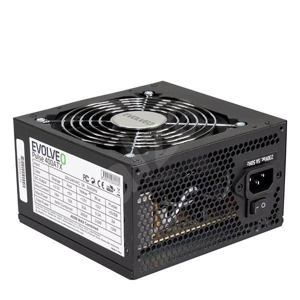 EVOLVEO Pulse 400 W čierny - Počítačový zdroj