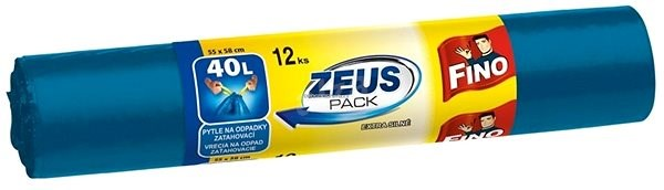 FINO Zeus 40 l, 12 ks - Vrecia na odpadky