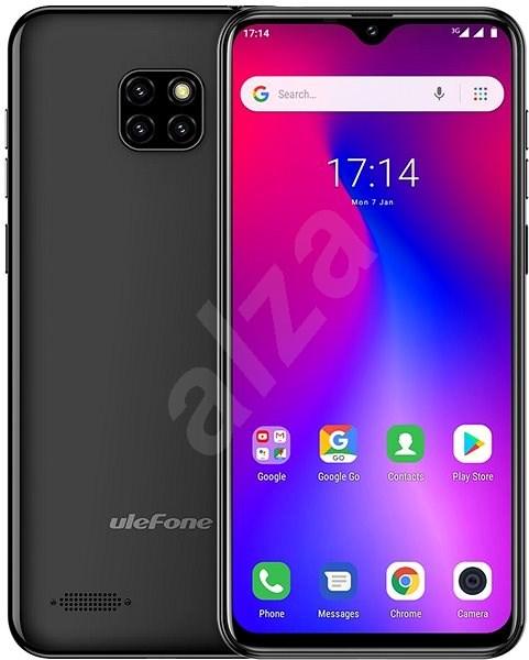 UleFone Note 7 čierna - Mobilný telefón