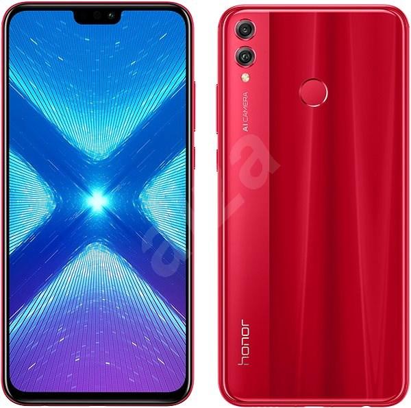 Honor 8X 64 GB červený - Mobilný telefón