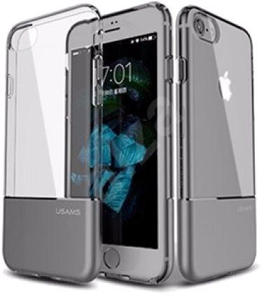 USAMS pre iPhone 7 šedá - Ochranný kryt  01cb06de91f