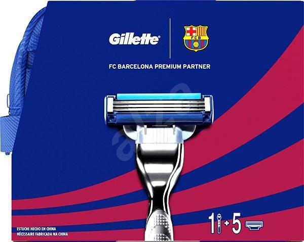 cdb7ad1b3c2d4 Gillette Mach3 - FC Barcelona dizajn kazeta - Darčeková kozmetická sada