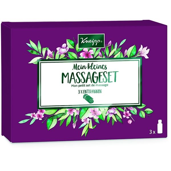 KNEIPP Súprava masážnych olejov 3× 20 ml - Darčeková kozmetická súprava