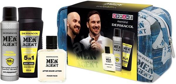 Dermacol Men Agent – Total Freedom - Pánska kozmetická súprava