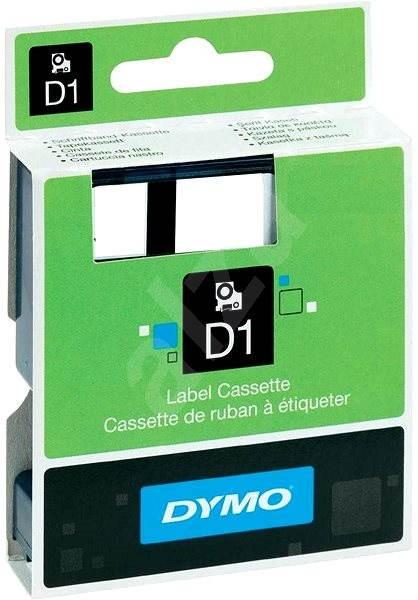 Páska do štítkovača Dymo D1, 40913, S0720680, biela / čierna, 9 mm - Páska
