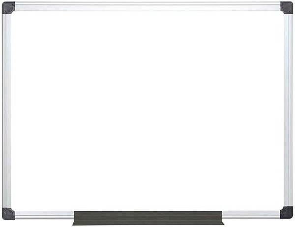 VICTORIA, magnetická 60 × 90 cm, biela - Tabuľa