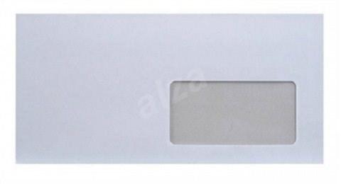 VICTORIA LA4 DL obyčajná, samolepiaca s okienkom vpravo - Poštová obálka