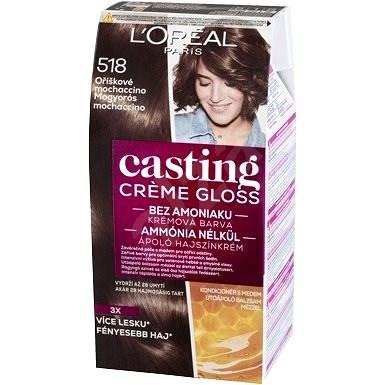 ĽORÉAL CASTING Creme Gloss 518 Orieškové mochaccino - Farba na vlasy ... 0a40ce7f0b7