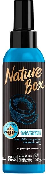 NATURE BOX Milky Moisture Spray Coconut Oil 150 ml - Sprej na vlasy
