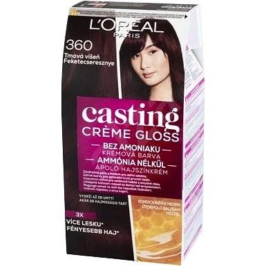 L ORÉAL CASTING Creme Gloss 360 Tmavá višňa - Farba na vlasy  ca1498cc169