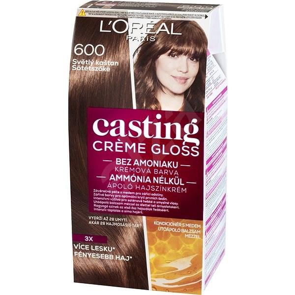 L ORÉAL CASTING Creme Gloss 600 Svetlý gaštan - Farba na vlasy  71a4f1d8ce4