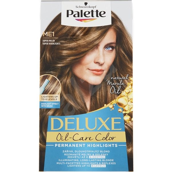 SCHWARZKOPF PALETTE Deluxe Blond ME1 Super melír 50 ml - Farba na vlasy d4917eb2775