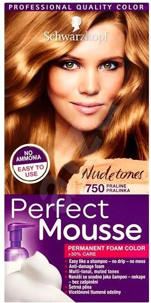 SCHWARZKOPF PERFECT MOUSE 750 - Pralinka 35 ml - Farba na vlasy