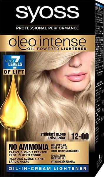 SYOSS Oleo Intense 12-00 Strieborný Blond 50 ml - Farba na vlasy ... b93ce1a3352