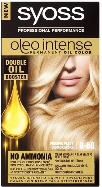 SYOSS Oleo Intense 9-60 Pieskový blond 50 ml - Farba na vlasy  c80ab5c451e