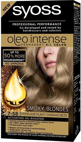 SYOSS Oleo Intense 7-58 Chladná béžová blond 50 ml - Farba na vlasy ... 7fb2929e6a7
