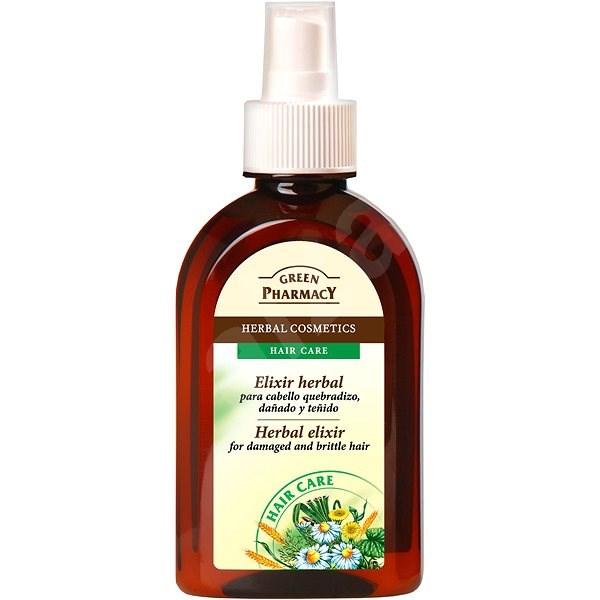 GREEN PHARMACY Herbal elixír na krehké a poškodené vlasy 250 ml - Sérum na vlasy