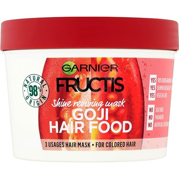 GARNIER Fructis Goji Hair Food 390 ml - Maska na vlasy  86fe5e1487f