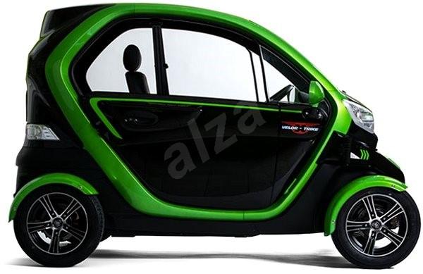 VXT 2 QUADRO Čierno-zelený - Elektromobil
