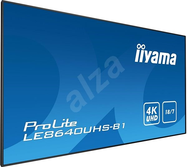 "86"" iiyama ProLite LE8640UHS-B1 - Veľkoformátový displej"