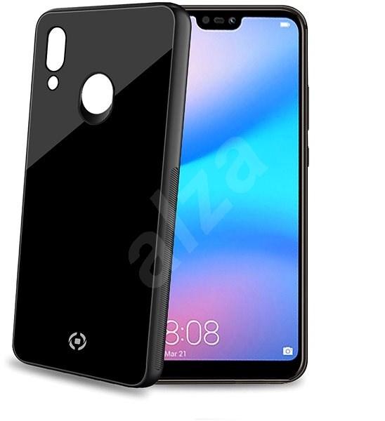 6b8f65988 CELLY Diamond z tvrdeného skla a TPU pre Huawei P20 Lite čierny - Kryt na  mobil
