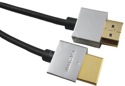 PremiumCord Slim HDMI prepojovací 3m - Video kábel