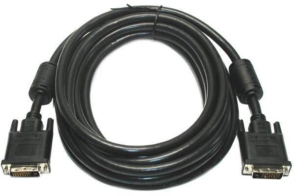 ROLINE prepojovací DVI-D pre LCD, 5m - Video kábel