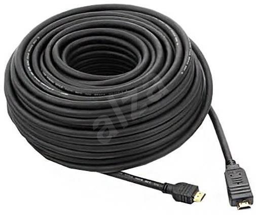 PremiumCord HDMI High Speed s ethernetom prepojovací 25 m čierny - Video kábel