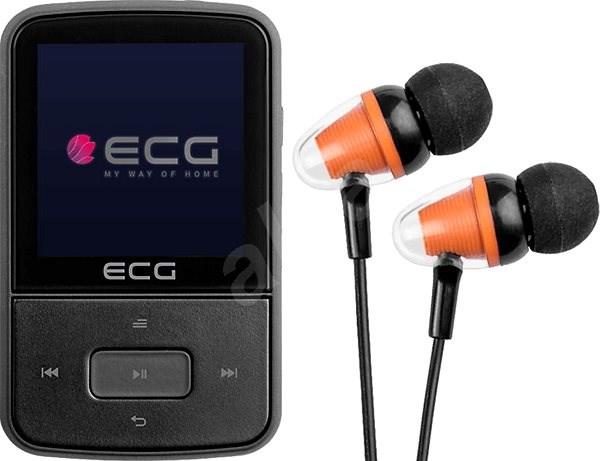 efe297851 ECG PMP 30 8 GB Black - MP4 prehrávač