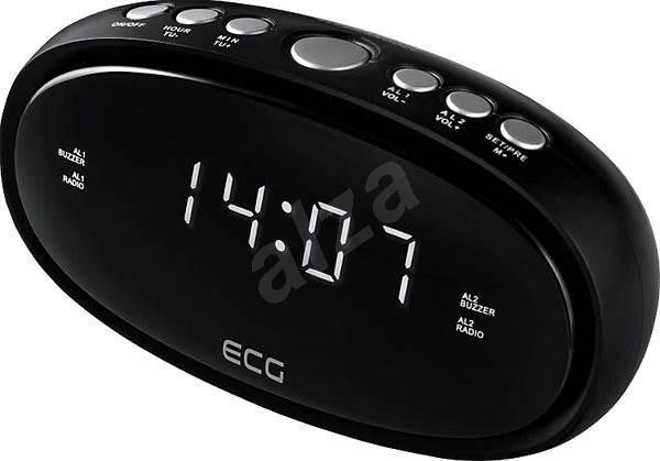 ECG RB 010 čierny - Rádiobudík