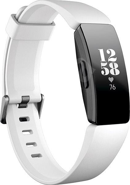 Fitbit Inspire HR White/Black - Fitness náramok