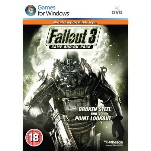 Fallout 3 CZ Datadisk (Broken Steel + Point Lookout) - Hra na PC