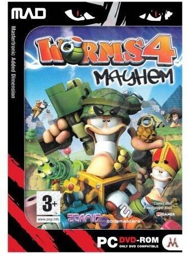Worms 4: Mayhem - Hra na PC