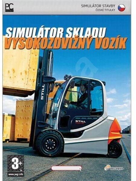 Simulátor skladu : Vysokozdvižný vozík - Hra na PC