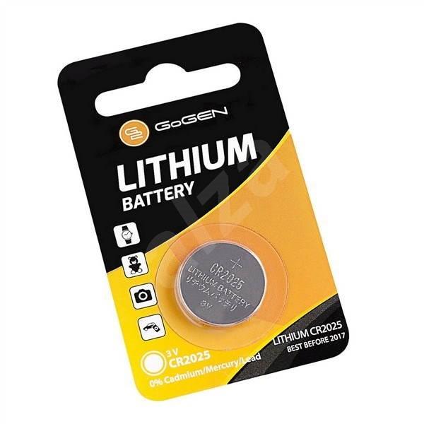 Gogen CR2025 - 1ks - Gombíkové batérie