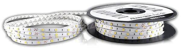 Whitenergy SMD5050 7.2W / m, 10mm - teplá biela - LED pásik