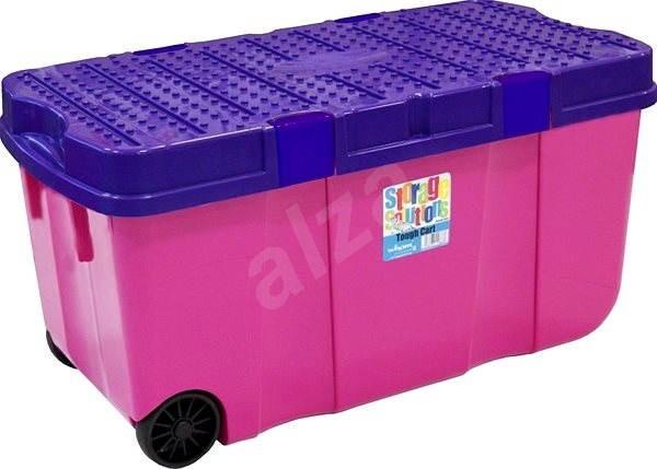 41948e0c5 Wham Box s vekom a kol. 100 l ružový 15250 - Úložný box | Alza.sk