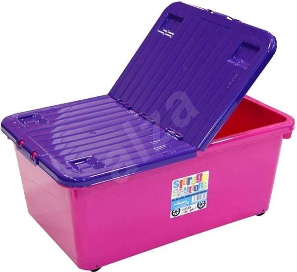 840381c26 Wham Box sa skl.víkem 45l ružový 15400 - Úložný box | Alza.sk