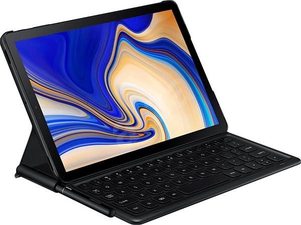 77deb5a5fcabe Samsung Galaxy Tab S4 Bookcover Keyboard čierne - Puzdro na tablet ...