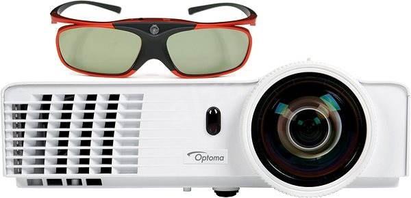 b6e862f40 Optoma GT760 Short Throw + 3D okuliare ZD302 - Projektor   Alza.sk