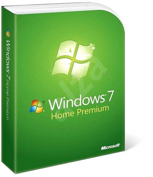 Microsoft Windows 7 Home Premium SK Upgrade, verze v krabici (FPP) - Operačný systém