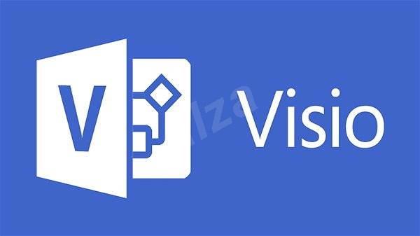 Microsoft Visio Professional 2016 CZ - Kancelársky softvér