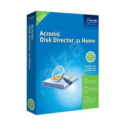 Acronis Disk Director 11 Home CZ - elektronická licence - Zálohovací software