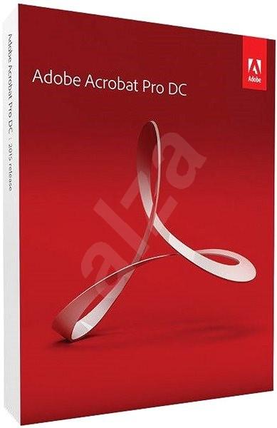 Adobe Acrobat Pro DC v 2017 CZ - Softvér