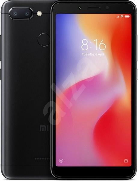 Xiaomi Redmi 6 32 GB LTE Čierny - Mobilný telefón
