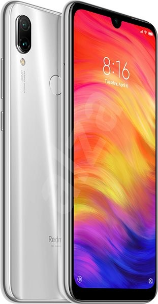 Xiaomi Redmi Note 7 LTE 64GB biela - Mobilný telefón