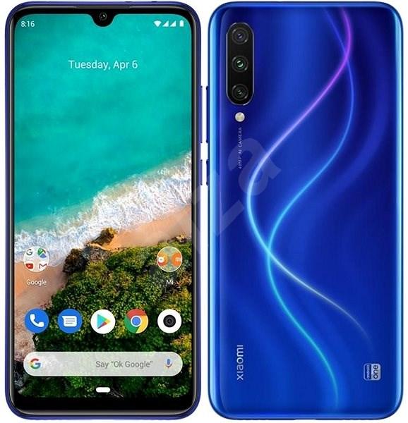 Xiaomi Mi A3 LTE 128GB modrý - Mobilný telefón