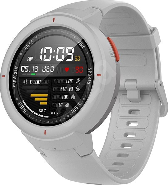 2b4e30b19 Xiaomi Amazfit Verge White - Smart hodinky   Alza.sk
