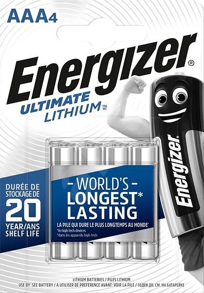 Energizer Ultimate Lithium AAA/4 - Jednorázová batéria