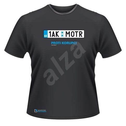 NFPK SPZ pánské černé M - Tričko s motivem